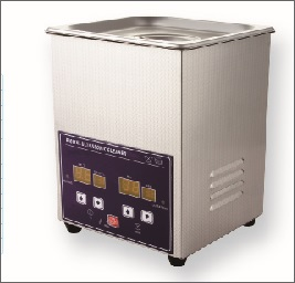 Ultrasonic Industrial Cleaner - 4.25 Pint / 2L w/ Heater & Timer