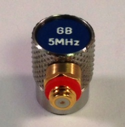 "1/4"" Dia Single 10MHz - Microdot"