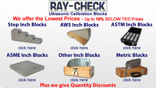 Ray-Check blocks
